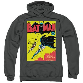 Batman First Adult Pullover Hoodie