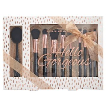 Simple Pleasures Hello Gorgeous 10-pc. Brush Set | null