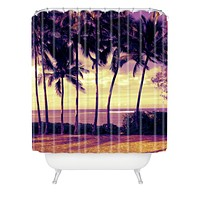 Deb Haugen Crozier Sunset Shower Curtain