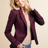 Fitted One-button Jacket - Victoria's Secret