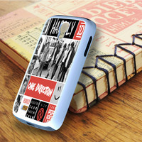 One Direction Best Song Ever Art Collage Samsung Galaxy S4 Case