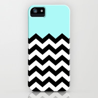 ZigZag Mint iPhone & iPod Case by Amber Rose | Society6
