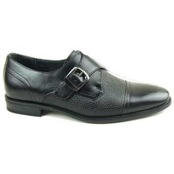 Men's  Monk Strap Shoes- Black