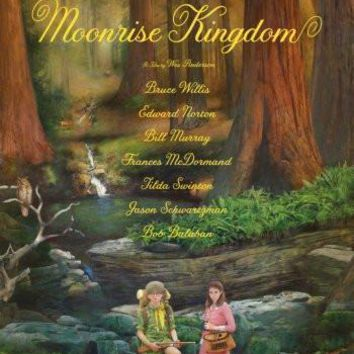 Moonrise Kingdom Poster Standup 4inx6in