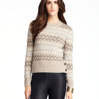 Women's Apparel | Cashmere Shop | Fair Isle Pull-Over Sweater | Lord and Taylor