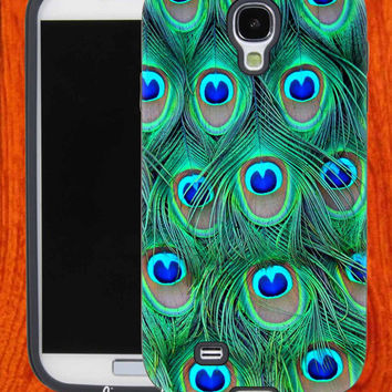 Peacock Feather,Accessories,Case,Cell Phone,iPhone 4/4S,iPhone 5/5S/5C,Samsung Galaxy S3,Samsung Galaxy S4,Rubber,29-11-12-Bn