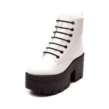 Womens Shoe Republic LA Buzz Platform Boot