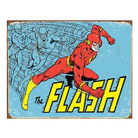 The Flash Retro Vintage Tin Sign