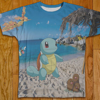 Pokemon Tshirt Two Sided Clothing Photo