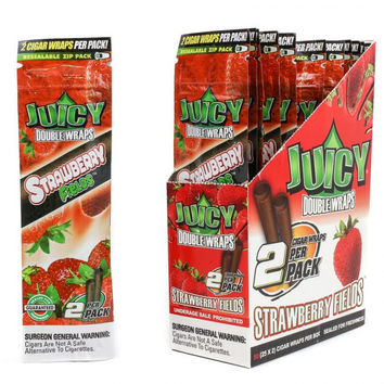 Juicy Wraps - Strawberry Fields (Box of 50)