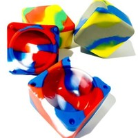 """Cube Silicone Container (2.5"""")"""