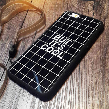 Supreme Valentine But It's Cool  Grid Soft TPU Case Cover  For iPhone 5 5s SE 6 6S 6S Plus case