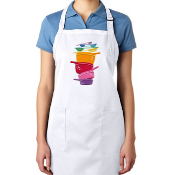 Measuring Cups EMBROIDERED Men's Apron Woman's Apron (May be Personalized)
