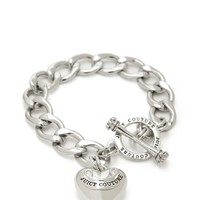 Banner Heart Starter Bracelet by Juicy Couture