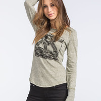 Roxy Bright Star Womens Tee Olive  In Sizes