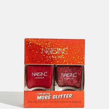 More Glitter Less Bitter Nail Polish Duo