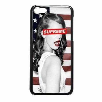 Lana Del Rey Supreme 6236 iPhone 5c Case