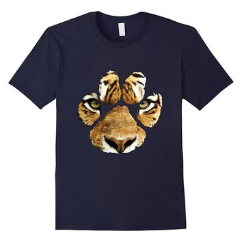 Awesome Tiger Paw Print T-Shirt - Mens & Womens & Kids