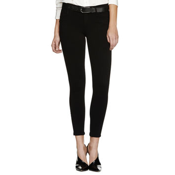 Goldsign Marcie Focus Cripped Skinny Jeans with Zipper