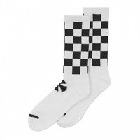Independent Trucks Independent Finish Line Crew Socks White/Black 2 Pairs