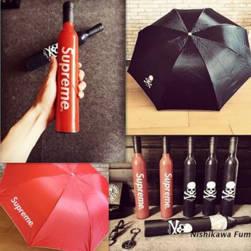 Supreme Fashion Mastermind JAPAN MMJ Wine bottle style umbrella
