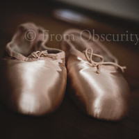 8x12 Pointe Shoes 02 - fine art photo print - ballet shoes