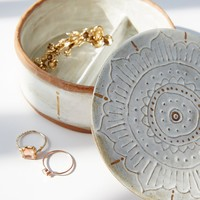 Free People Small Round Jewelry Box