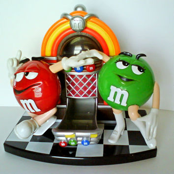 M & M Jukebox Candy Dispenser