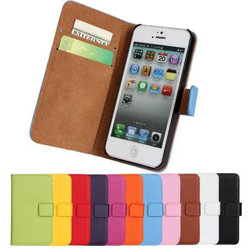 Leather Mobile Flip Case
