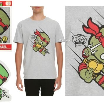 Licensed cool Funko POP! Tee Teenage Mutant Ninja Turtle #05 RAPHAEL T-Shirt Standee Hot Topic