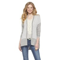 Color Block Open Cardigan - Lily Star