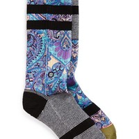 Women's Stance 'Aquarius' Crew Socks - Black