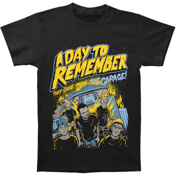 A Day To Remember Men's  They Came From T-shirt Black