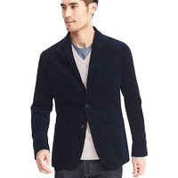 Modern Slim Soft-Wash Shirt Blazer