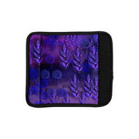 "Marianna Tankelevich ""Summer Night"" Purple Lavender Luggage Handle Wrap"