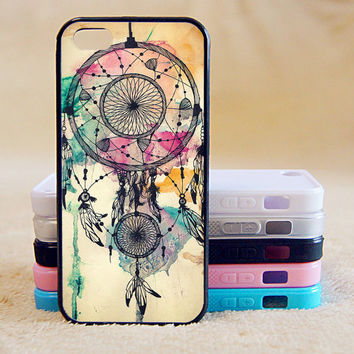 Dream Catcher, Painting,Custom Case, iPhone 4/4s/5/5s/5C, Samsung Galaxy S2/S3/S4/S5/Note 2/3, Htc One S/M7/M8, Moto G/X
