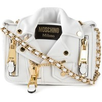 Moschino Smakker Biker Shoulder Bag - Stefania Mode - Farfetch.com