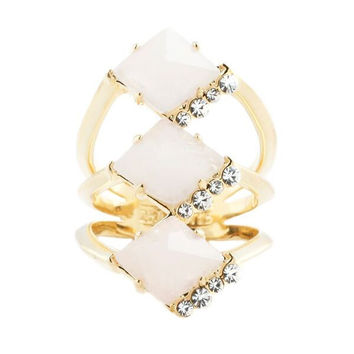 Triple Prism Ring (view more colors)