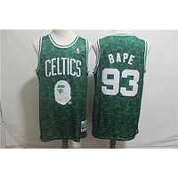 BAPE 93 x MITCHELL & NESS Boston Celtics Swingman Jersey - Best Deal Online