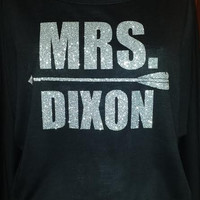 "Walking Dead ""Mrs. Dixon"" Hooded Pullover Sweatshirt! Great Gift idea!"
