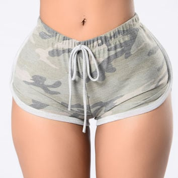 Worth It Shorts - Camo