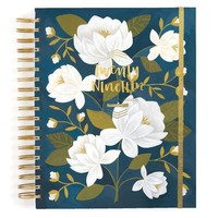2018-2019 Planner - Wise Words Raleigh Floral by 1Canoe2