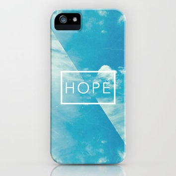 Romans 5:5 Hope iPhone & iPod Case by Pocket Fuel
