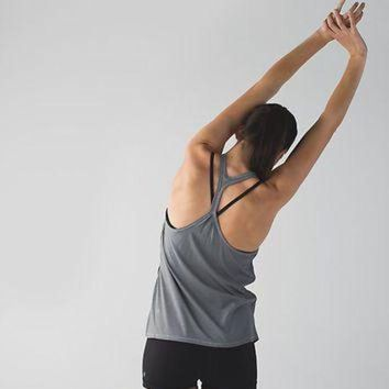 ONETOW sweat it out racer | women's tanks | lululemon athletica