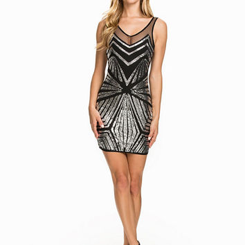 Sequin Decor Dress, NLY One
