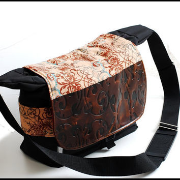 Haute Couture Large Travel Camera bag purse with by sizzlestrapz