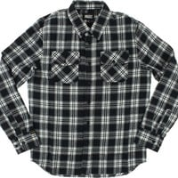 Grizzly Tundra Button up Longsleeve M Black Plaid