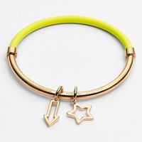 Women's MARC BY MARC JACOBS 'Shoot Star Hula Hoop' Charm Bangle