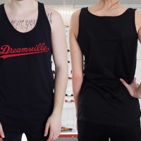 Rare Dreamville Records Tanktop, Adult Tanks,Unisex Tanktop
