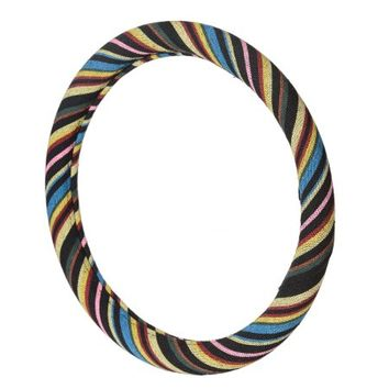 Allison Stripe Series Car Auto Steering Wheel Cover Rio - Walmart.com